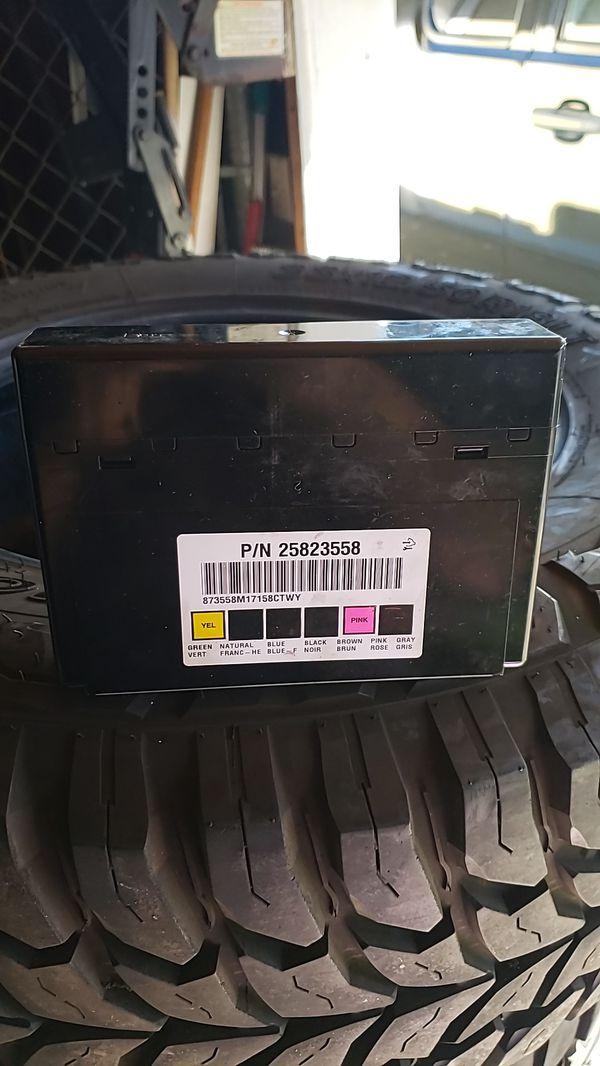 Chevy silverado Bcm body control module