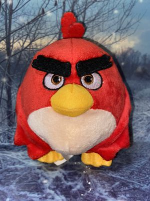 "Rovio Angry Birds Movie Red 7"" Plush for Sale in Bellflower, CA"