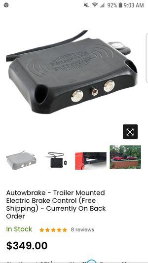 Autowbrake trailer mounted brake control for Sale in Affton, MO