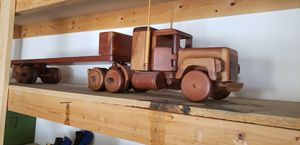 Hand made wood semi truck for Sale in Westminster, CO