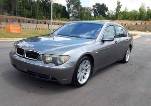 2004 BMW 745 Li for Sale in Sanford, NC