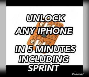 INSTANT UNLOCK FOR ALL IPHONES for Sale in Columbus, OH