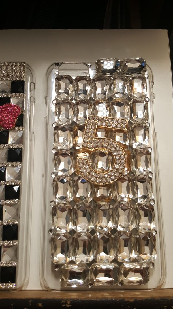 """2 cases for iphone 6/6s plus 5.5"""" bling bling new 7firm now ship out of the town for Sale in ..."""