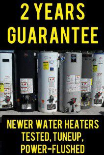 Water Heater Gas Electric or Propane Used Boiler 50 40 30 Gallons Boilers Heaters 🔥💦 BUY in VEGAS for Sale in Las Vegas,  NV