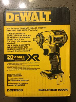 DEWALT Cordless Impact Compact Wrench for Sale in Murrieta, CA