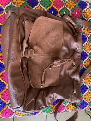Large Brown Leather Purse for Sale in Phoenix, AZ