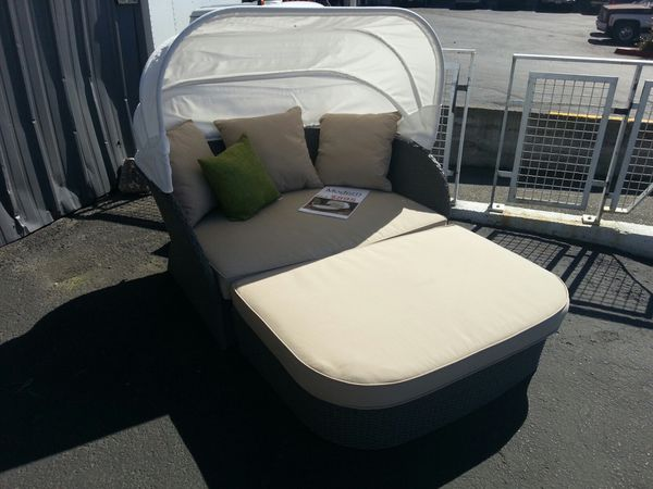 Outdoor lounger presented by Modern Home Furniture In Everett