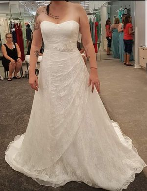 Wedding Dress David's Bridal for Sale in Columbus, OH