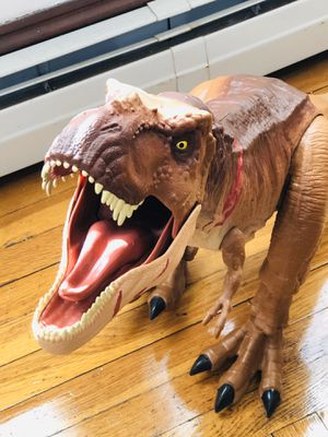 """#E# Very Big 24"""", Jurassic Worl T Rex Electronic Roar Action Figure Dinosaur Toy for Sale in Johnston, RI"""