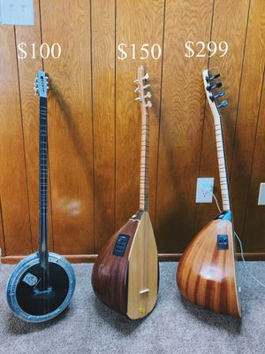 Professional Short Neck Turkish Baglama Saz for Sale in El Cajon, CA