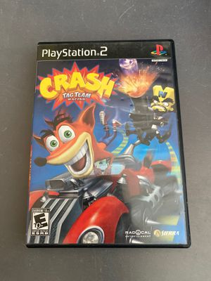 Crash tag team racing playstation 2 ps2 for Sale in Santa Ana, CA