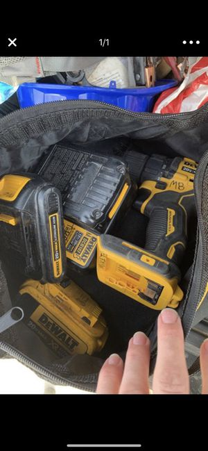 Dewalt drill brushless motor barely used for Sale in Victorville, CA
