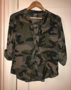 NY & CO Camo Silk Shirt for Sale in Queens, NY