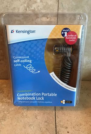 Kensington Combination Portable Notebook Lock for Sale in Chicago, IL