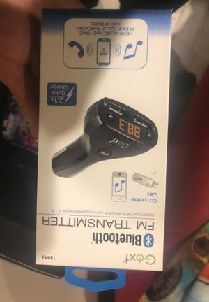 Bluetooth FM Transmitter- $10 for Sale in South Gate, CA