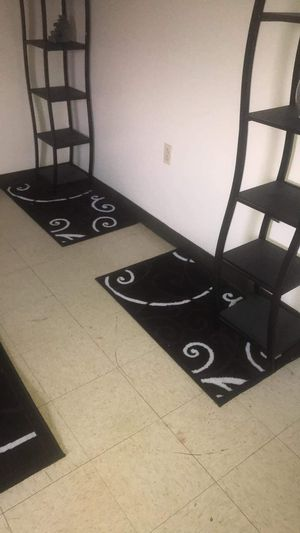 4 piece rug set new moving outta town sale for Sale in Hannibal, MO