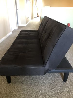 Suede Futon for Sale in Temecula, CA