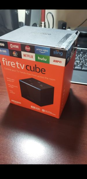 *NEW* 4K Alexa enabled Fire TV Cube sealed in box for Sale in Ontarioville, IL