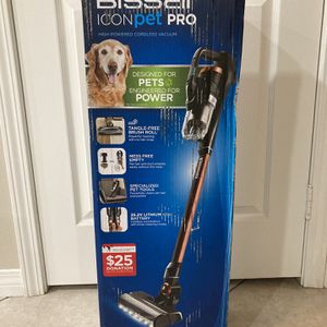 Bissell ICONpet Pro cordless Vaccum BRAND NEW IN BOX for Sale in March Air Reserve Base, CA