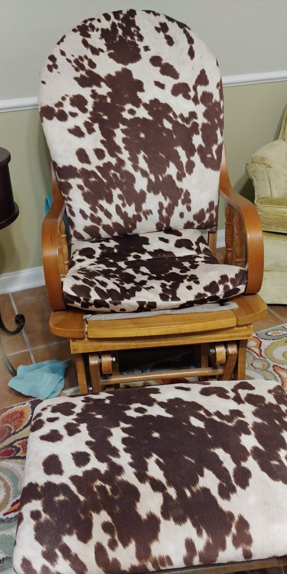 Rocking chair cowbou style