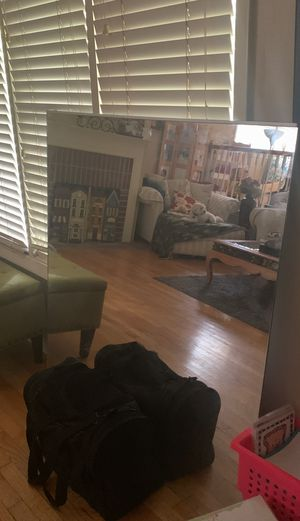 """Large heavy glass wall mirror 48"""" x 48"""", 1/4"""" thick glass for Sale in Arlington Heights, IL"""