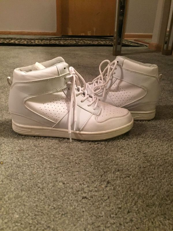 Women's White High Tops