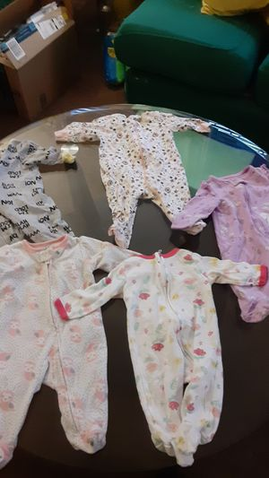 0-3m girl onesie (5 pieces) for Sale in Milford Mill, MD