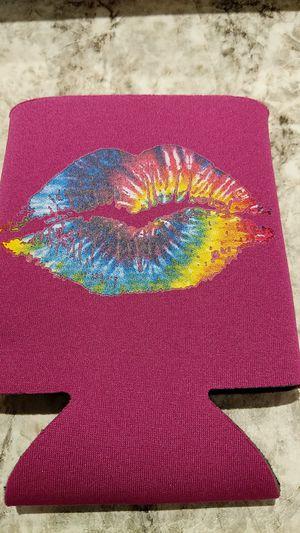 Rainbow lips screen print koozie for Sale in Hazelwood, MO
