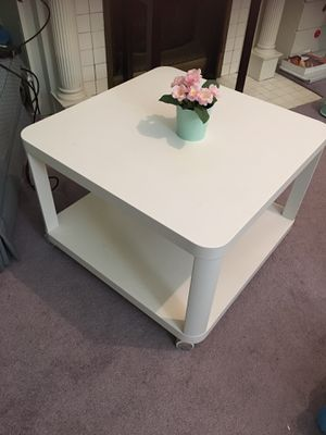 Ikea table on casters for Sale in Pittsburgh, PA