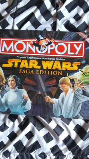 Monopoly star wars saga edition for Sale in Coffeyville, KS