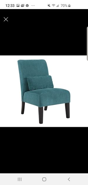 Teal slipper chair for Sale in Georgetown, KY