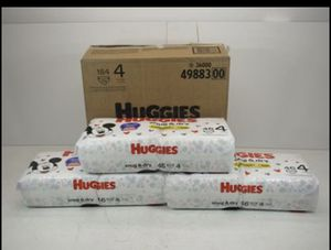 Huggies Snug & Dry Disposable Diapers Size 4 184 Count for Sale in Norwalk, CA