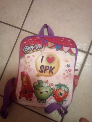 Shopkin backpack for Sale in Clearwater, FL