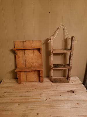handmade wall shelves. 20.00 each for Sale in Woodruff, SC