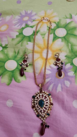 Necklace with ear ring for Sale in Roswell, GA