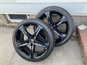 Tires and rims for sale for Sale in Dedham, MA