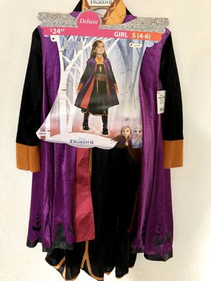 Princess Anna Costume Size Small for Sale in Sanger, CA