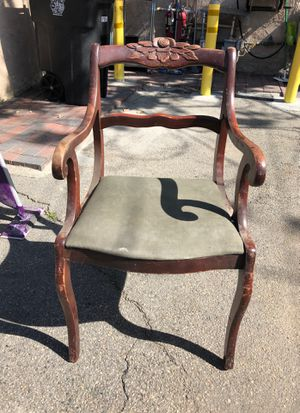 Antique chair for Sale in Burbank, CA