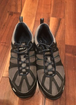 Speedo men's shoes size 8 quick lace system for Sale in Gig Harbor, WA