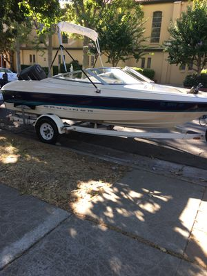1995 bay liner boat open bow for Sale in Concord, CA
