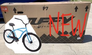 "Brand New In Box - Huffy 26"" Cranbrook Comfort Cruiser Bike Bicycle Matte Blue for Sale in Cerritos, CA"