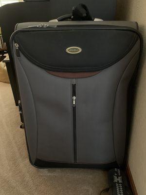 Eddie Bauer Large rolling suitcase for Sale in Elk Grove, CA
