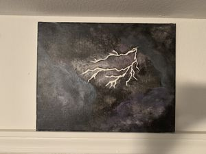 Lightning painting for Sale in Waynesville, MO