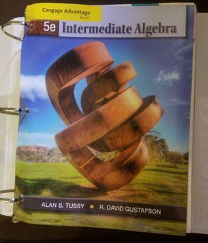 Intermediate algebra Alan tussy for Sale in Fontana, CA
