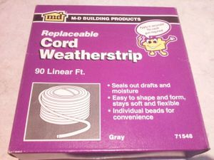 WINDOW AND DOOR INSULATION WEATHERSTRIP CORD for Sale in HALNDLE BCH, FL