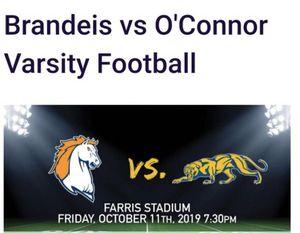 Brandeis vs. O'Connor Panthers vs. Broncos for Sale in Oklahoma City, OK