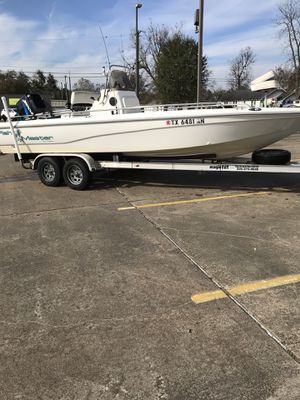 23ft fishmaster center console bay boat for Sale in Beaumont, TX