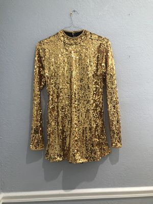 sequin dance dress with leotard under for Sale in Miami, FL