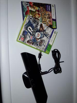 Xbox 360 games&sensor for Sale in Philadelphia, PA