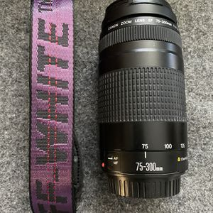 Canon EF 75-300mm Lens for Sale in Anaheim, CA